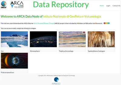 INGV - Data Repository