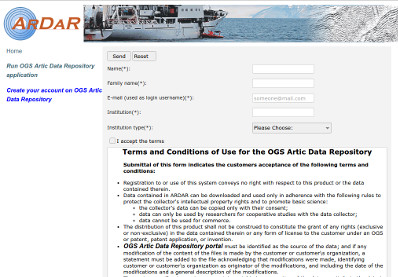 OGS - Data Repository