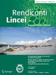 Springer - Rendiconti Lincei